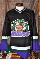 1994-1996 Minnesota Moose Away Hockey Jersey