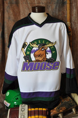 1994-1996 Minnesota Moose Home Hockey Jersey