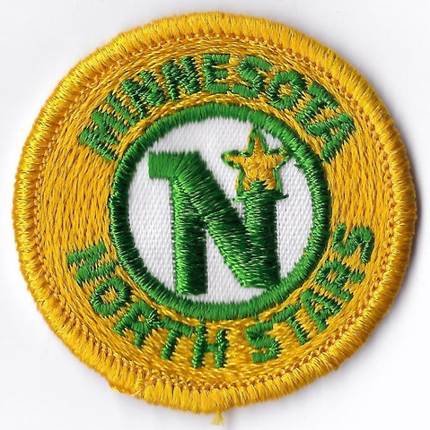 Minnesota North Stars Round 1980's Patch