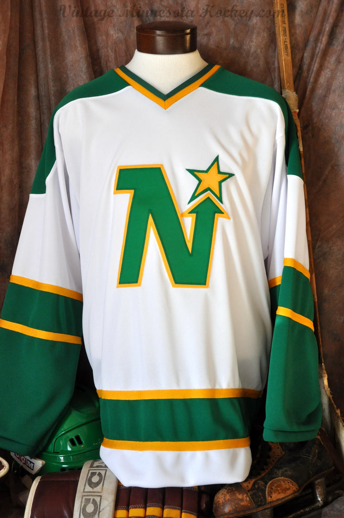 1967-1975 Minnesota North Stars Away Home Hockey Jersey  2004314db47