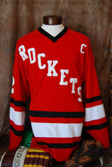 1977 Rochester John Marshall Away Hockey Jersey