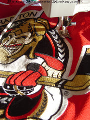 Sew Large Patch/Crest to jersey