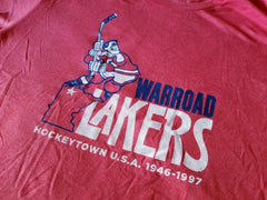 Warroad Lakers HockeyTown U.S.A. T-Shirt