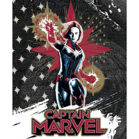 Captain Marvel Fabric Panel, Camelot