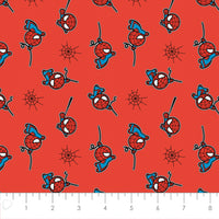 Spiderman Marvel Kawaii Fabric, Camelot