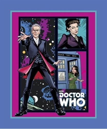 Dr Who Fabric Panel, Springs Creative