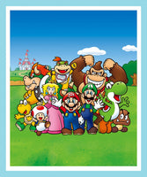 Mario and Friends Panel Lap Quilt