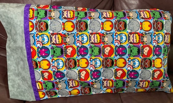 Chibi Avengers Pillowcase