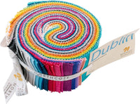 Dublin Fabric Jelly Roll Pack, Northcott