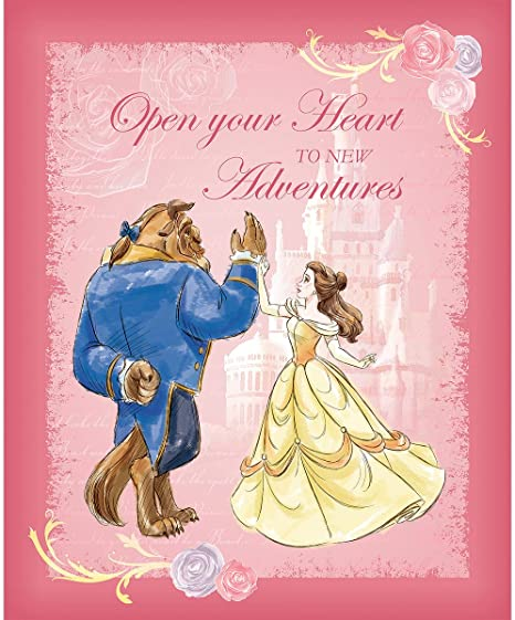 Beauty & The Beast Dance Fabric Panel, Springs Creative