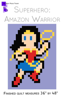 Amazon Warrior Lap Quilt Pattern
