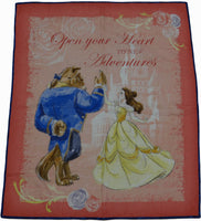 Beauty & The Beast Open Your Heart Panel Lap Quilt