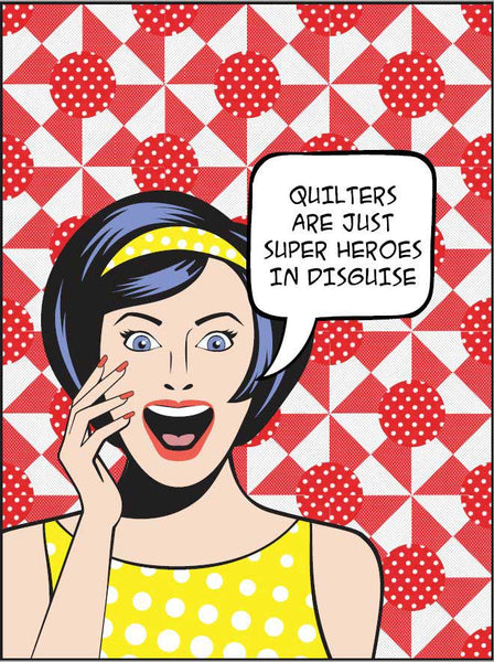 Moda Super Hero Quilt Kit (Limited Edition)