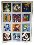Retro Gaming Revival Quilt a Long Block 4 - Coins