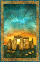 Stonehenge Solstice Fabric Panel, Northcott