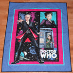 Dr Who Panel Lap Quilt