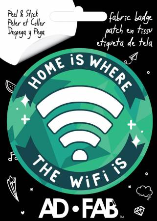 Gotta Have - Wifi - Adhesive Fabric 3 in/ 7.62 cm Badge