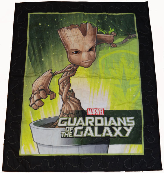 Guardians of the Galaxy Groot Panel Lap Quilt