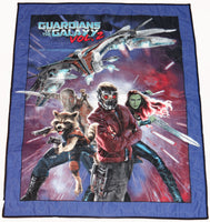 Guardians of the Galaxy Volume 2 Panel Lap Quilt