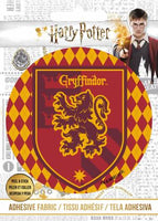 Harry Potter - HP Gryffindor Crest - Adhesive Fabric 3 in/ 7.62 cm Badge