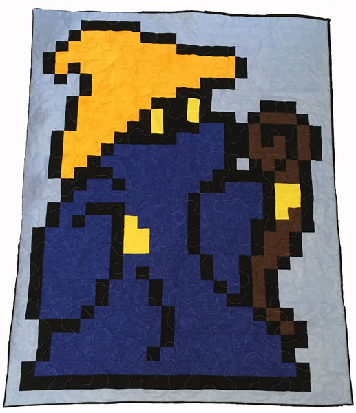 Dark Mage Lap Quilt