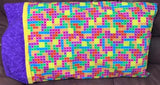 Tetris Pillowcase