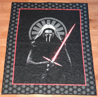 Star Wars Kylo Ren Panel Lap Quilt