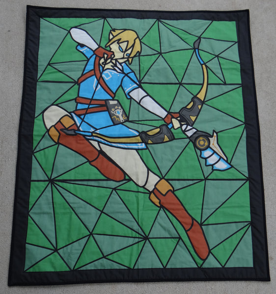 Legend of Zelda Lap Quilt