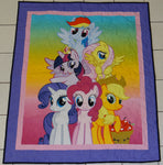 My Little Pony Panel Lap Quilt