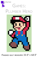 Plumber Hero Lap Quilt Kit