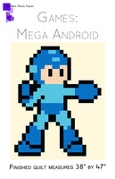 Mega Android Lap Quilt Kit