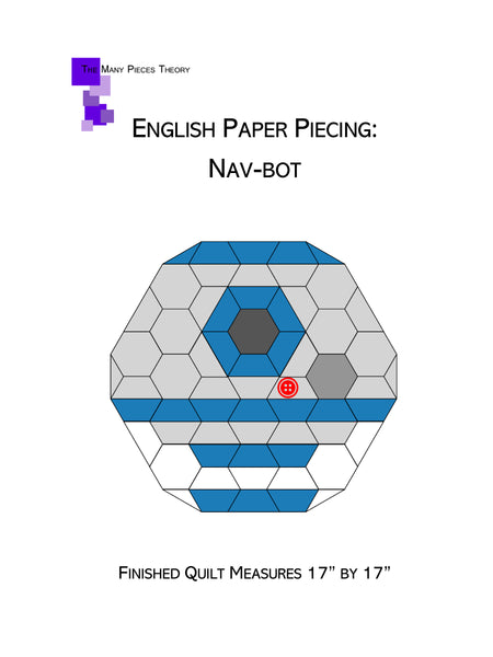 English Paper Piecing: Nav Bot Pattern Only