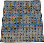 Pokemon Gen 1 Panel Lap Quilt
