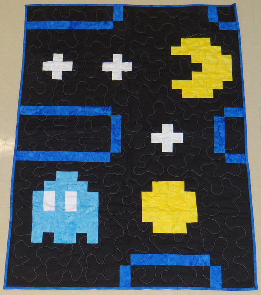 Pixel Eater Gaming Lap Quilt Kit