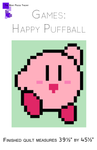 Happy Puffball Quilt Pattern