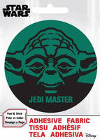 Star Wars - SW Yoda- Adhesive Fabric 3 in/ 7.62 cm Badge