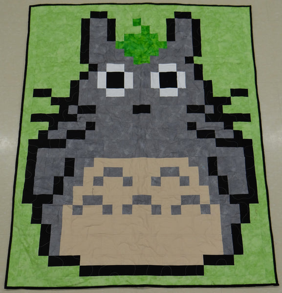 Japanese Wood Spirit Lap Quilt