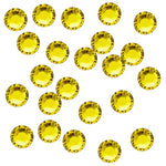 Citrine 3mm Iron-On Rhinestones