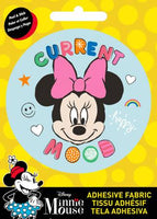 Disney - Minnie Current - Adhesive Fabric 3 in/ 7.62 cm Badge