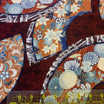 "Asian Fabric, Kona Bay ""Passion Collection"" PASS-03 Red"
