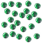Emerald 3mm Iron-On Rhinestones