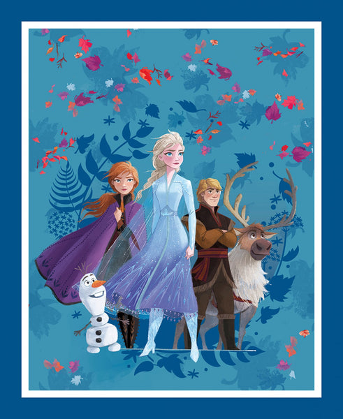 Frozen Cast Panel Quilt