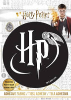 Harry Potter - HP Logo - Adhesive Fabric 3 in/ 7.62 cm Badge