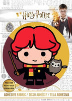 PREORDER Harry Potter - HP Ron and Wand - Adhesive Fabric 3 in/ 7.62 cm Badge