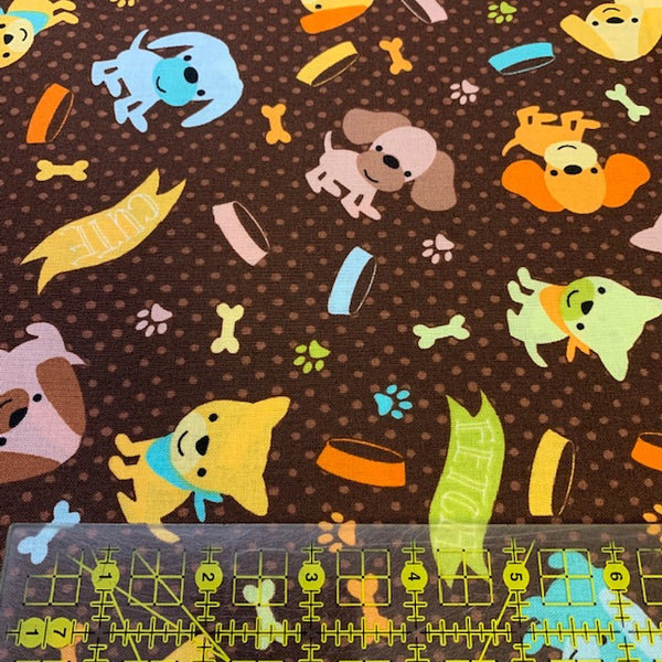 Dogs and Bones Fabric, AMT