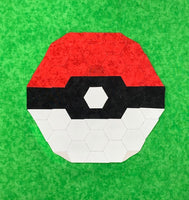 English Paper Piecing: Monster Ball Full Kit (Pattern included)