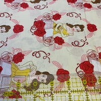 Beauty & the Beast Fabric, Camelot