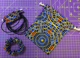 Convention Carpet Combo Pack of Cord Wrap, Dice Bag and Scrunchie