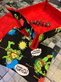 Teenage Mutant Ninja Turtle Dice Tray / Insert / Dice Bag