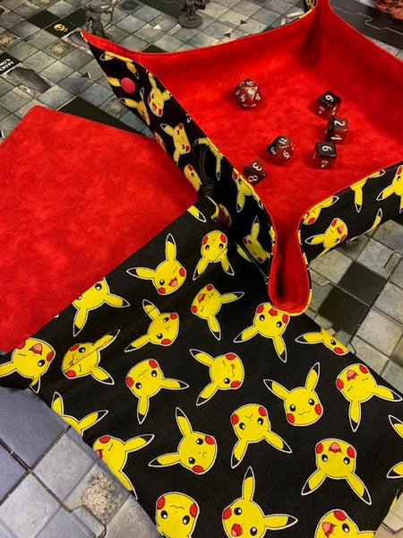 Pokemon Dice Tray / Insert / Dice Bag